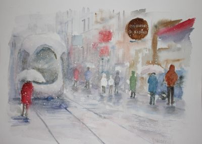 n°2 Neige dans les rues de Lyon
