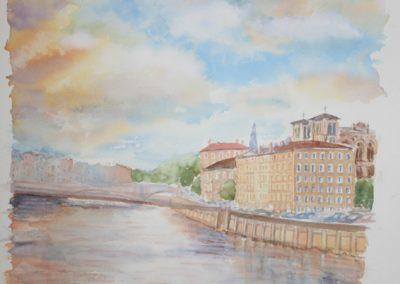 n°3 La Saône à Saint Jean