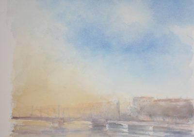 n°4 Brouillard sur le Rhône
