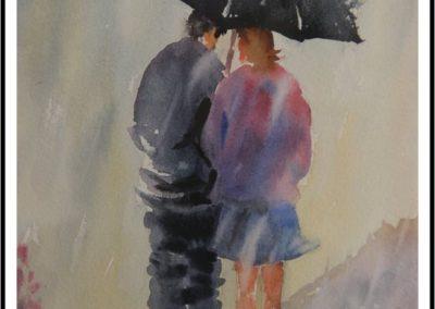 un petit coin de parapluie