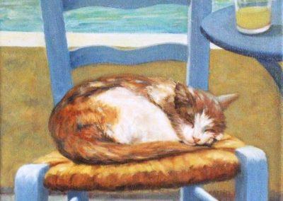 Ne pas réveiller le chat qui dort